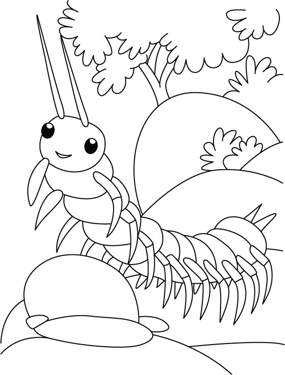 coloring pages walk - photo#33