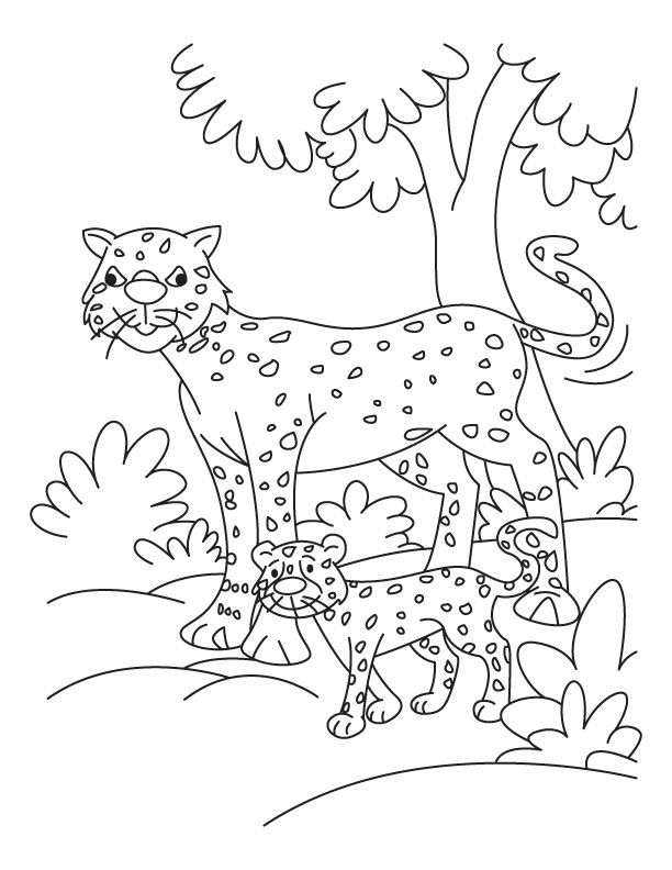 the cheedah girl coloring pages - photo#32