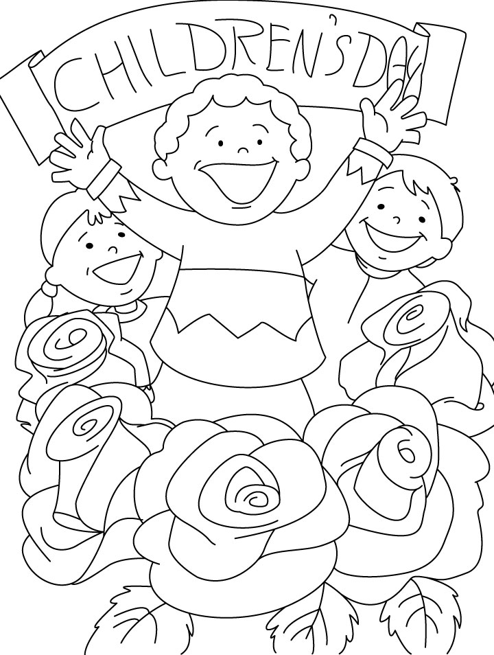 Childrens Day Coloring Pages Download Free Childrens Day Coloring Pages Of Children S Day