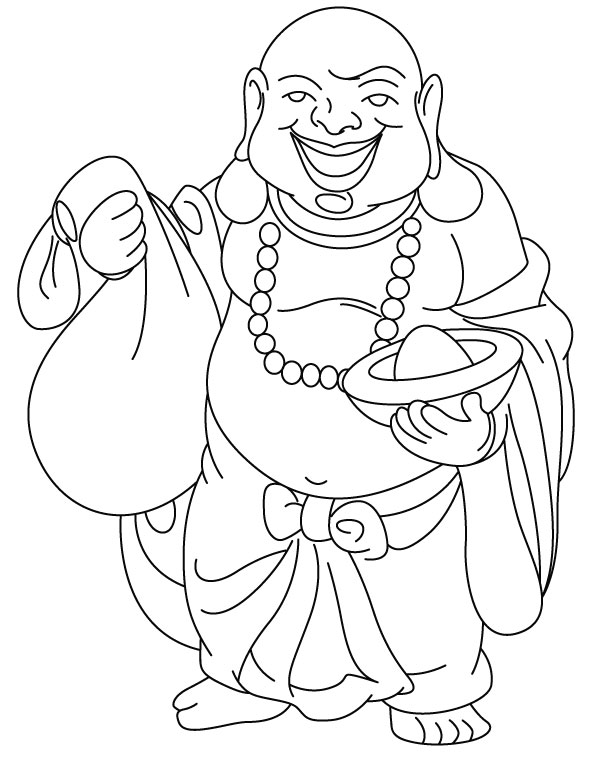 coloring pages buddah - photo#41