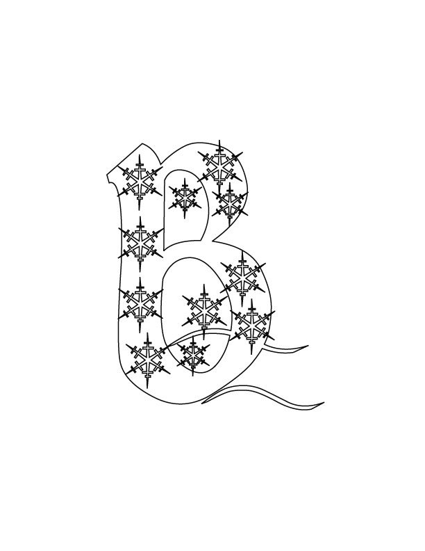 abc christmas coloring pages - photo#16