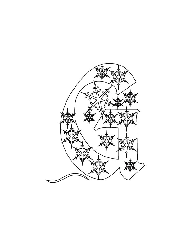 abc christmas coloring pages - photo#25