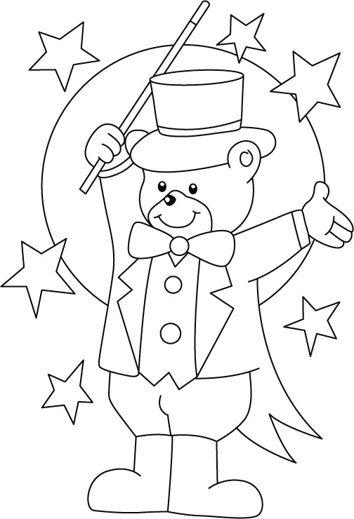 free downloadable circus coloring pages - photo#20