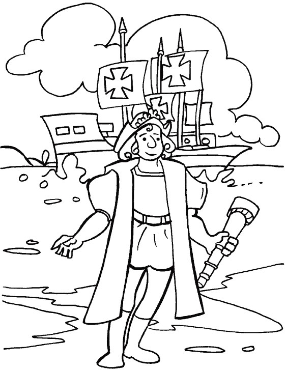 columbus coloring page colombus colouring pages best coloring pages collections
