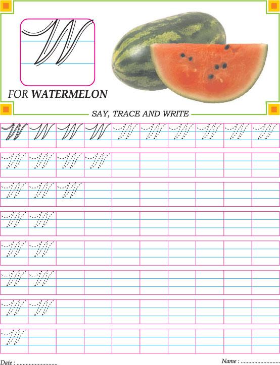 Number Names Worksheets capital letter worksheets for – Capital Letter Worksheets for Kindergarten