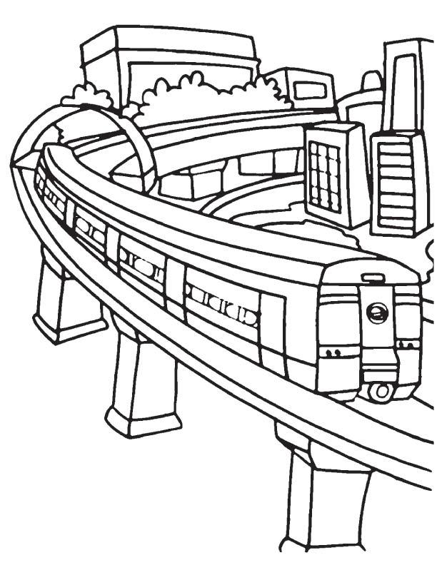 Metro Auto Parts >> Delhi metro coloring page | Download Free Delhi metro coloring page for kids | Best Coloring Pages