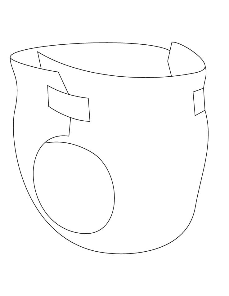 baby booties coloring pages - photo #34