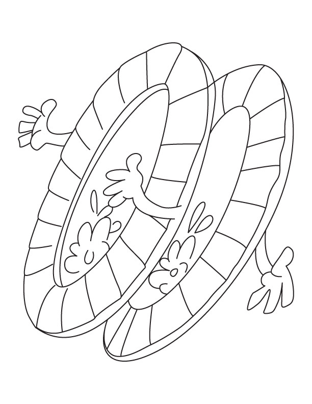 Dinner plate coloring page  Download Free Dinner plate coloring