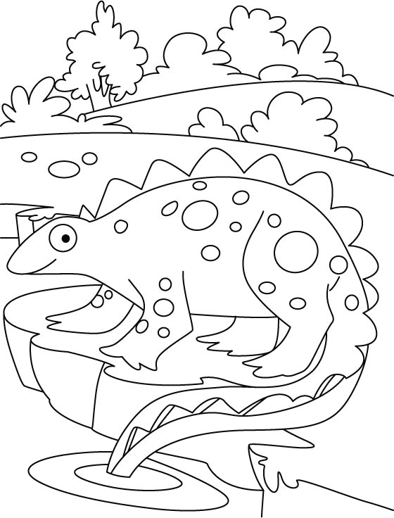 Dinosuar king coloring pages