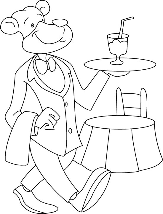 servant coloring pages - photo#8
