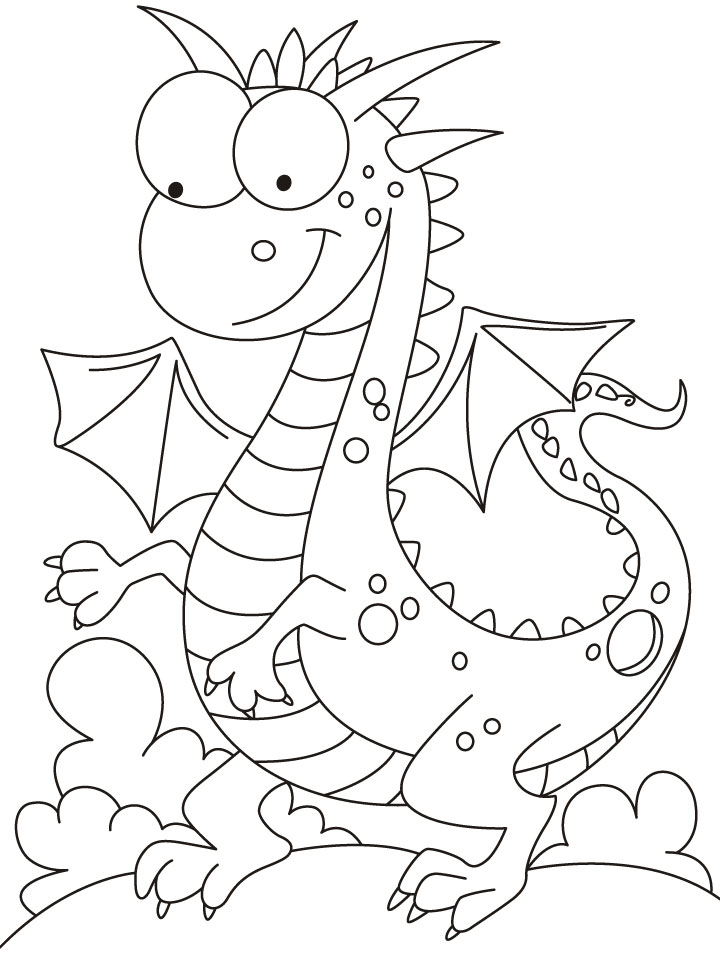 Flying Dragon Coloring Pages Dragon Coloring Pages