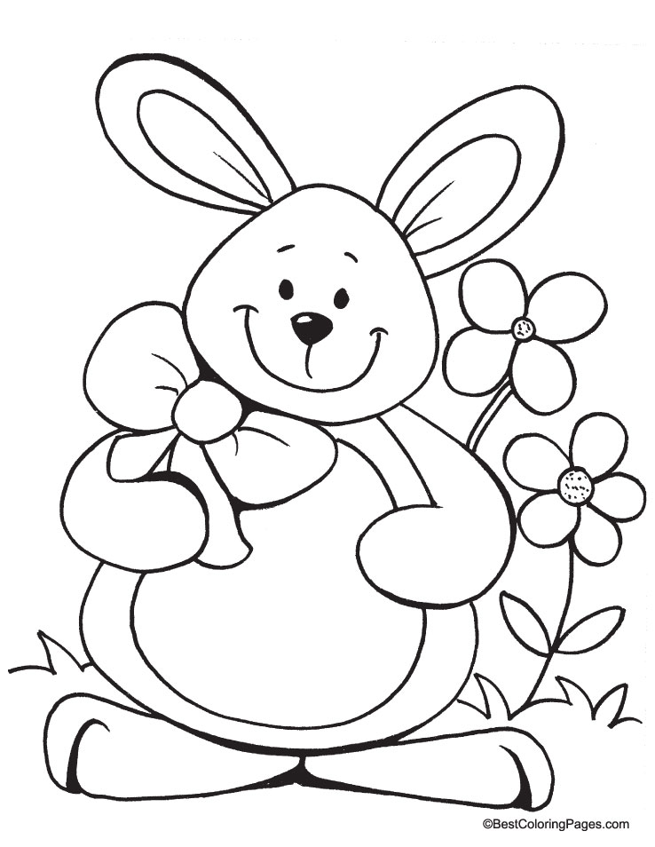 coloring pages of easter things - photo#6