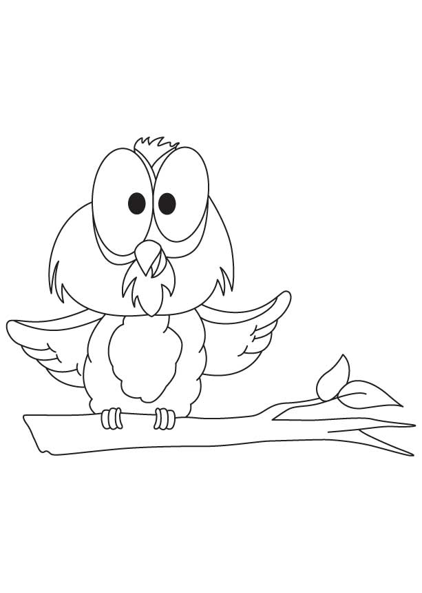Owl from winnie the pooh coloring pages