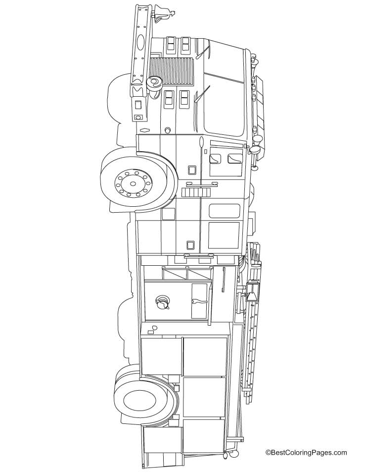 fire engine coloring pages - ride on fire coloring pages download free ride on fire