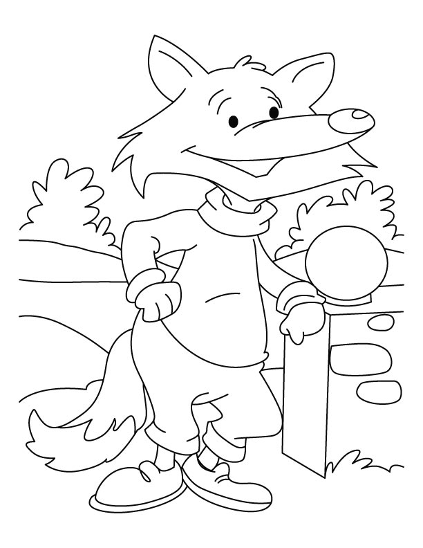 g fox co coloring pages - photo #30