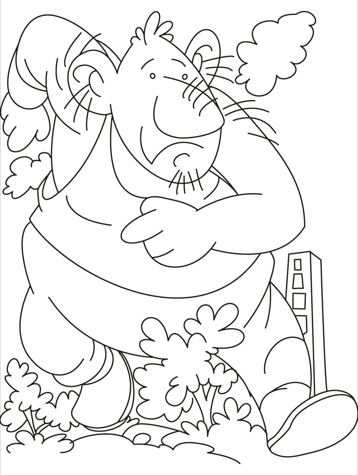 Giant firefighter coloring pages | Download Free Giant firefighter ...