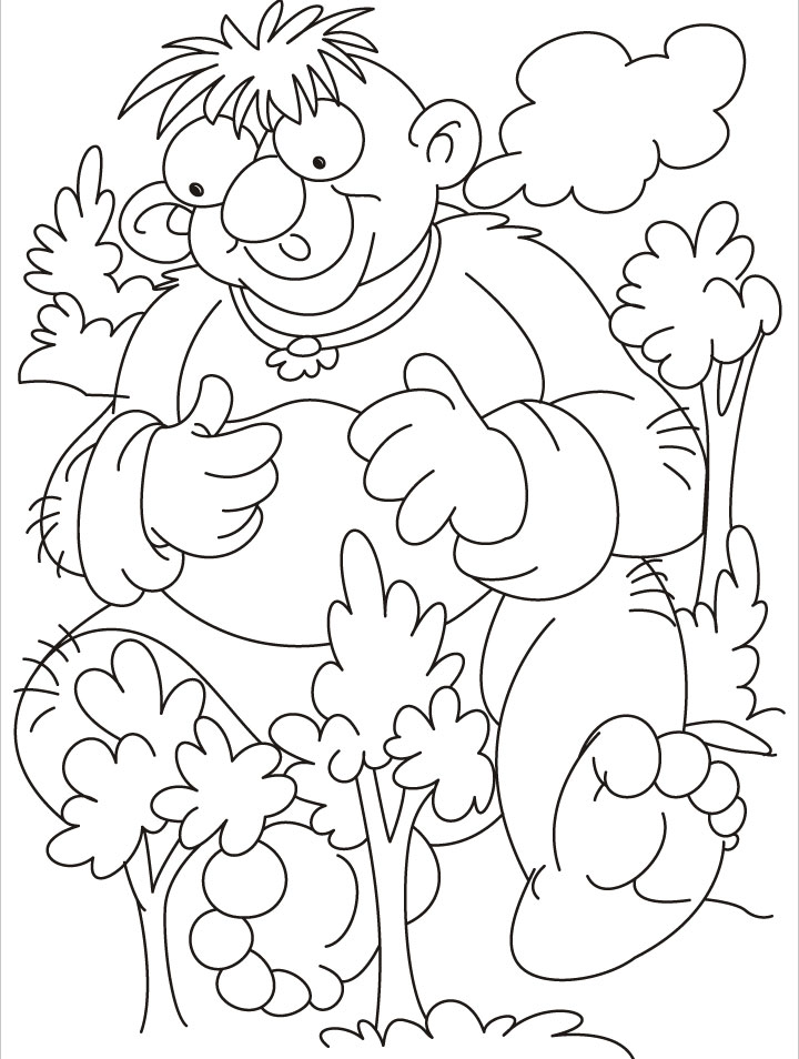 free jumbo coloring book pages - photo#16