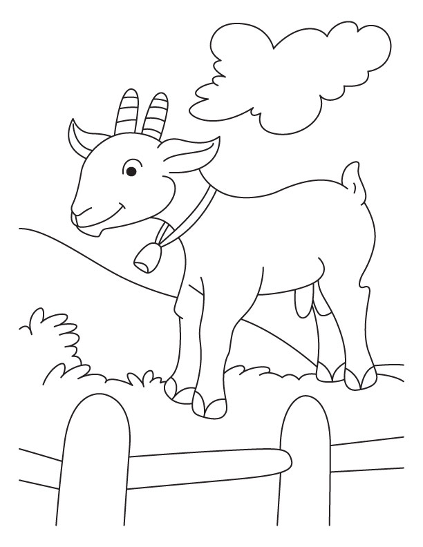 g for goat coloring pages - photo #31