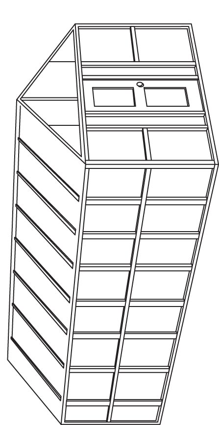 Green House coloring page