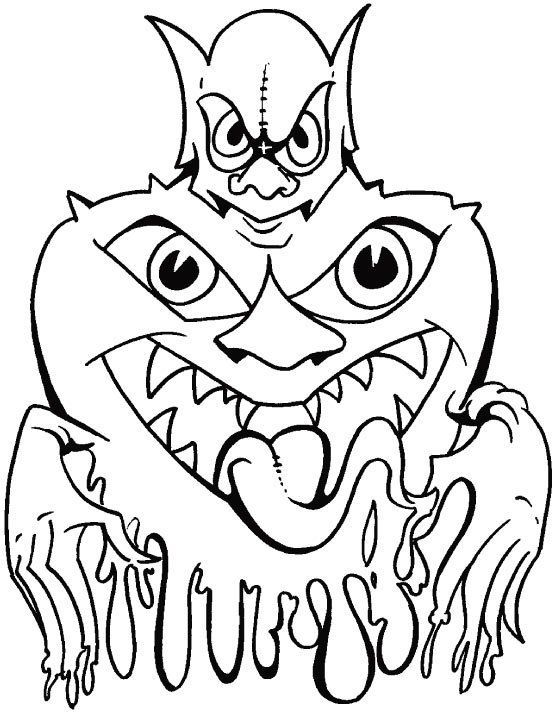 This is my night�Halloween�s night coloring pages
