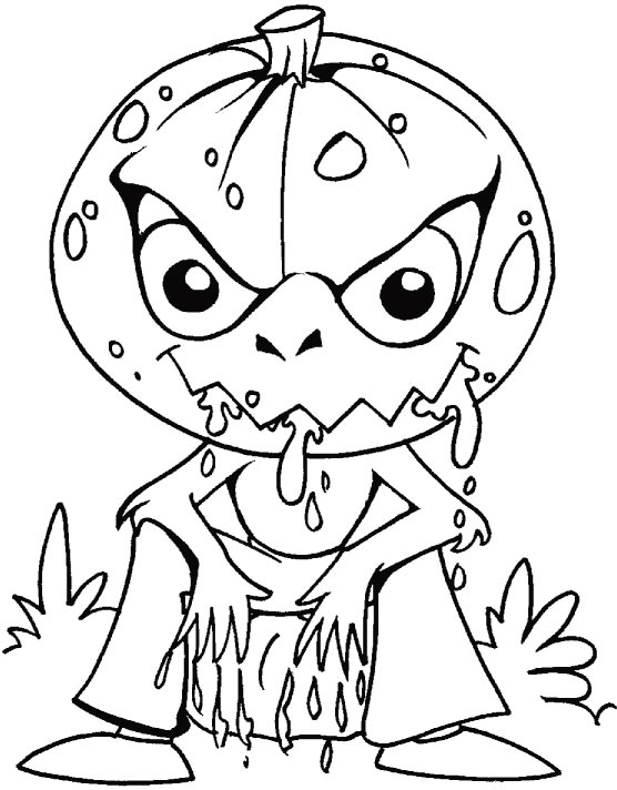 There is something haunted in the light of the moon coloring pages