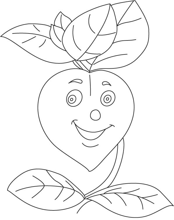 Happy basil coloring page Download