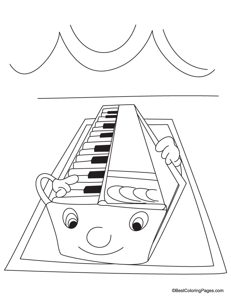 Harmonium coloring page | Download Free Harmonium coloring page ...