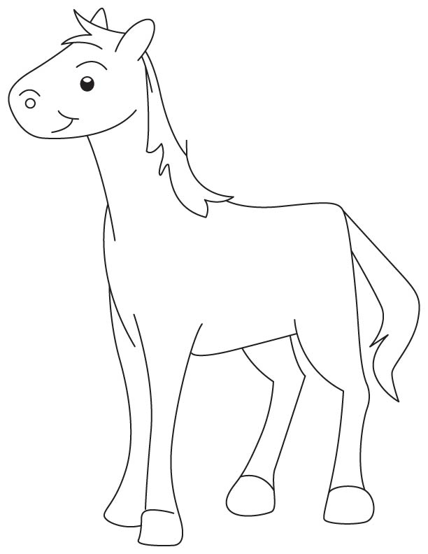 colt printable coloring pages - photo #10