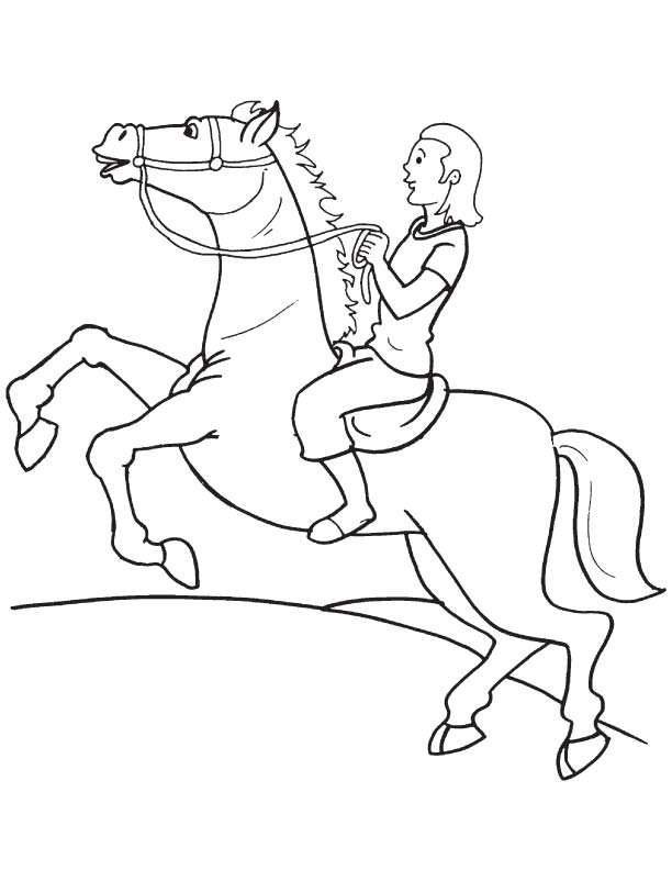 Free Printable Horse Pages Tag: 21 Free Printable Flower Coloring Pages  Picture Ideas. 32 Printable Horse Coloring Pages Image Inspirations. | 792x612