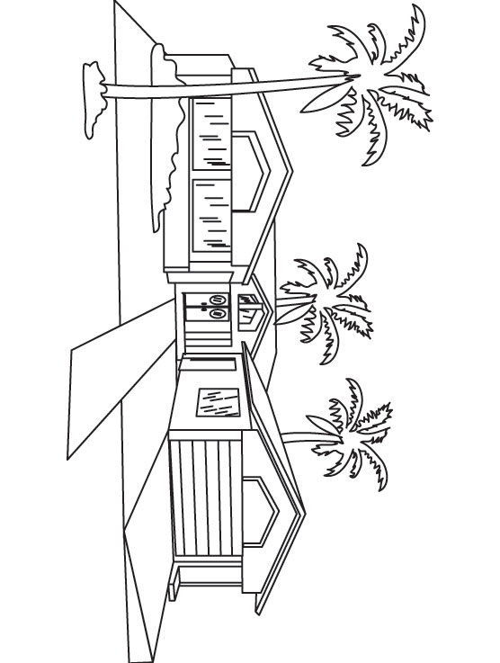 Barbie House Coloring Pages Coloring Pages