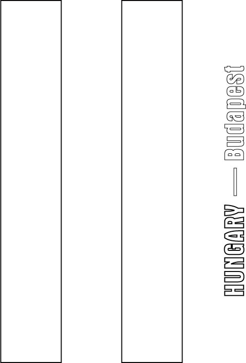 hungary flag coloring page
