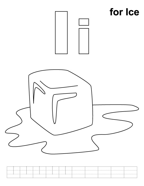 coloring pages ice - photo#1