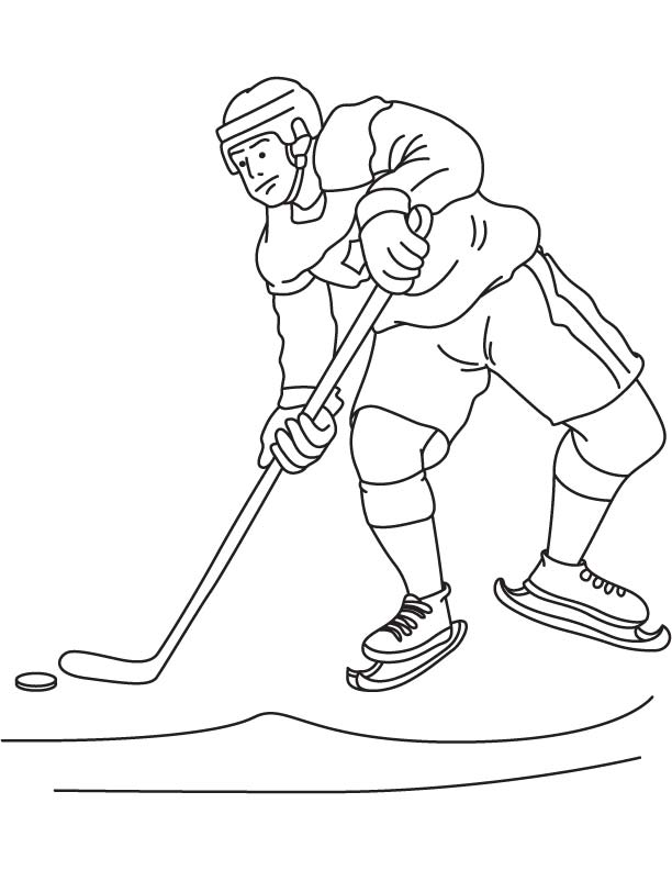 Ice hockey canada coloring page download free ice hockey for Ice hockey coloring pages