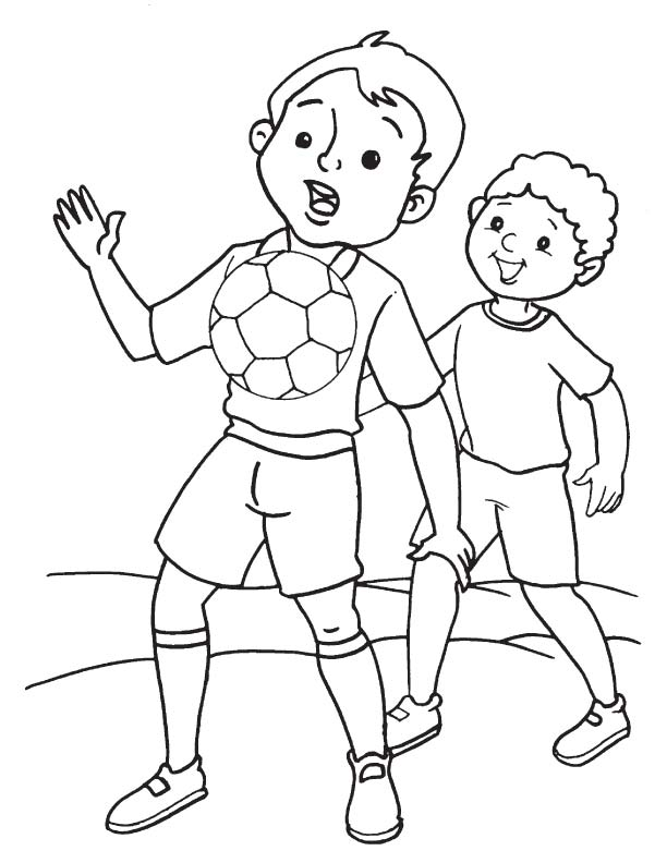 Free Printable Soccer Coloring Pages For Kids   792x612