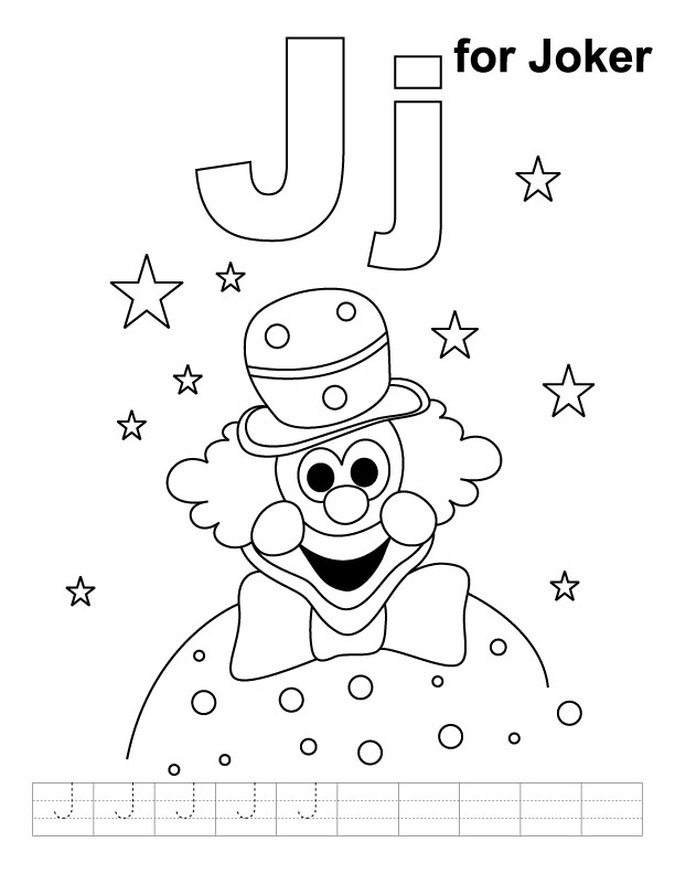 Joker Coloring Page Cake Ideas And Designs