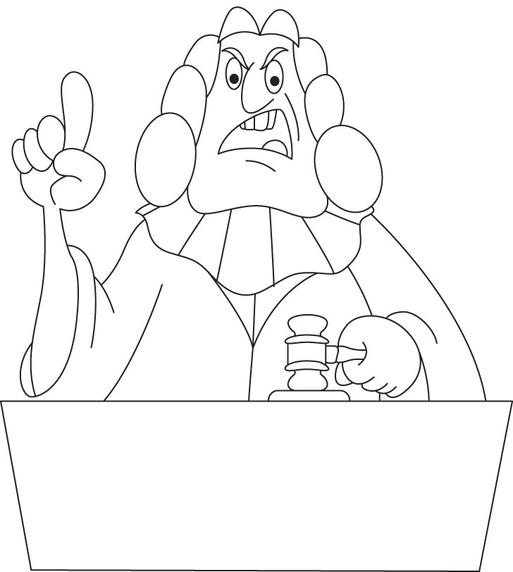 judge coloring page - judge coloring page download free judge coloring page