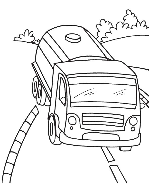oil tanker coloring pages - photo #14