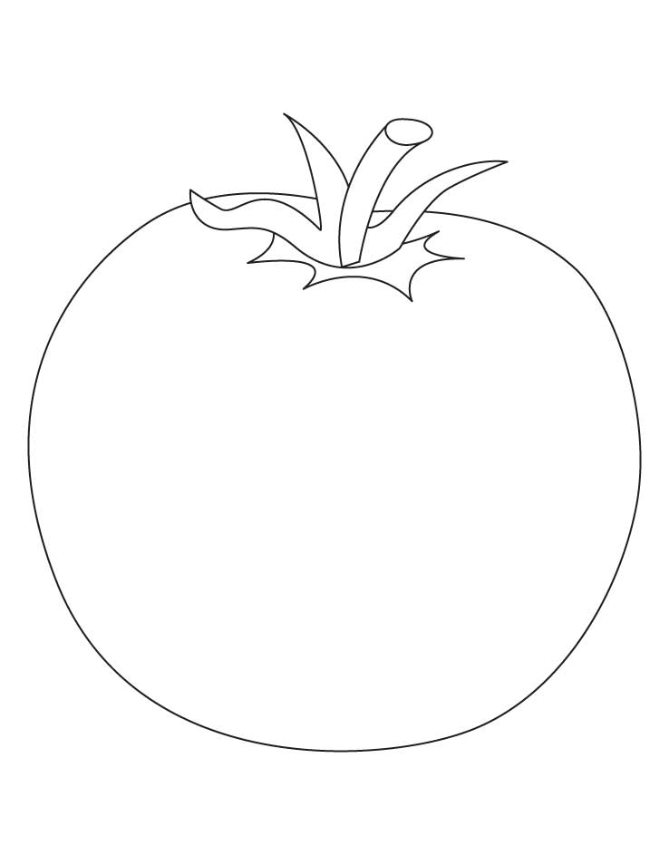 coloring pages of a tomato - photo#35
