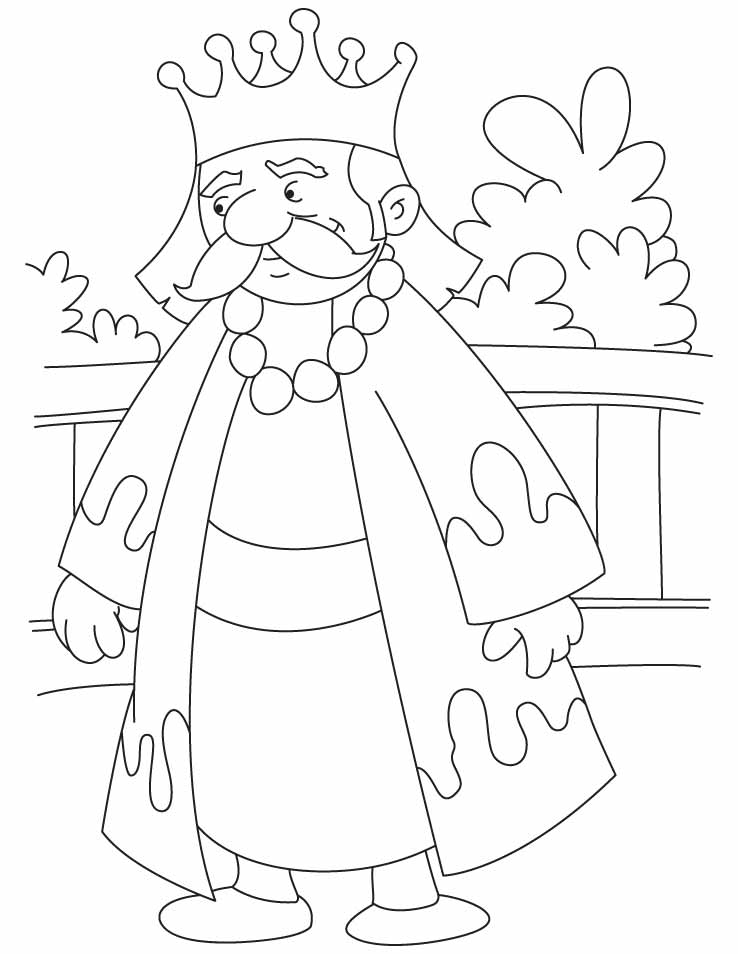 A Great King Akbar Coloring Pages