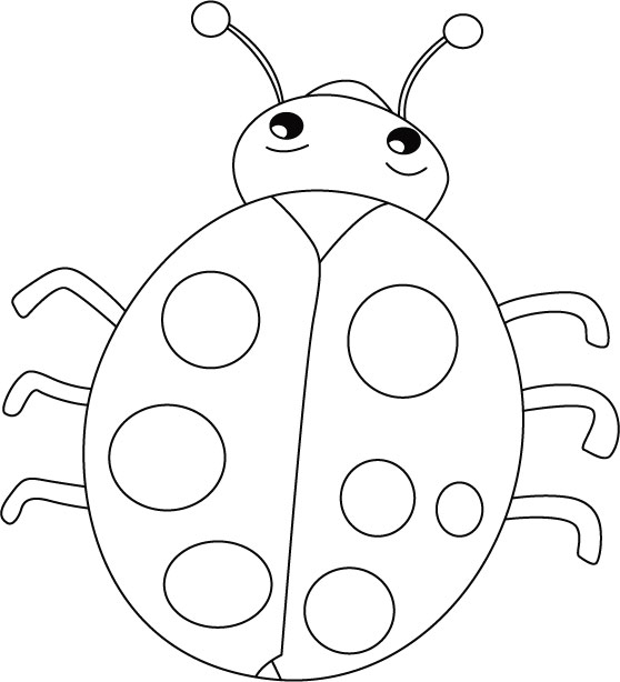 Ladybug smiles stomach cries coloring pages Download Free