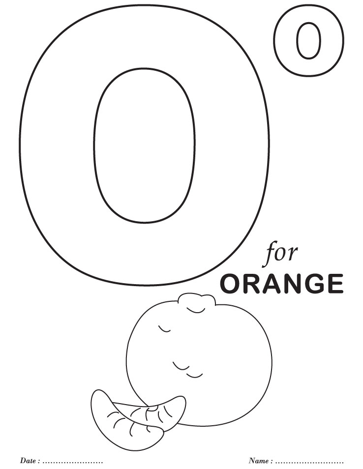 Printables alphabet o coloring sheets download free for Free alphabet coloring pages for toddlers