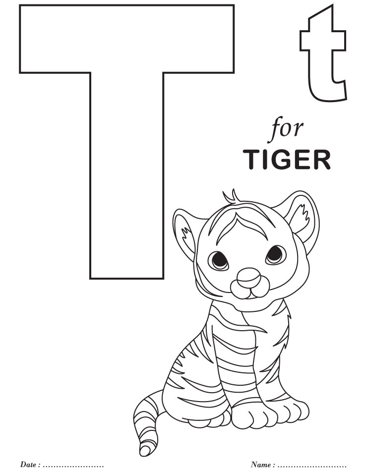 Printables Alphabet T Coloring Sheets Download Free Printables