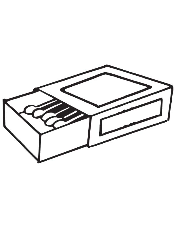 matchbox coloring page
