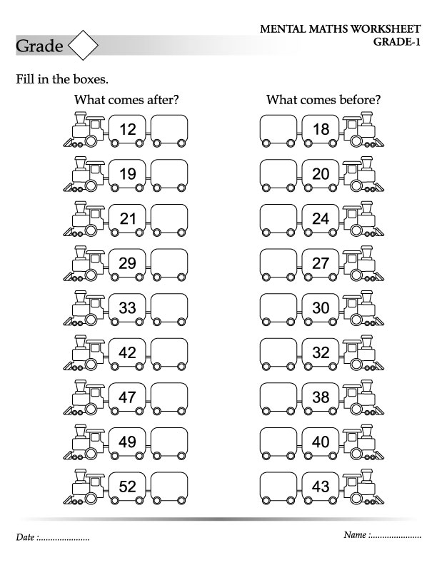 Before and After Numbers 10 Through 30 | Worksheets, Number and 30th