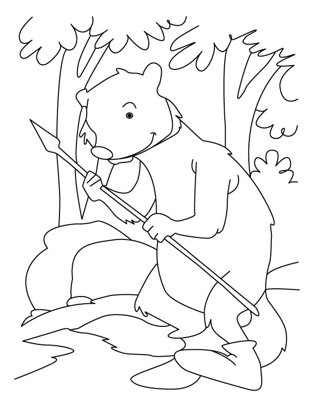 Rikki-Tikki-Tavi mongoose coloring pages