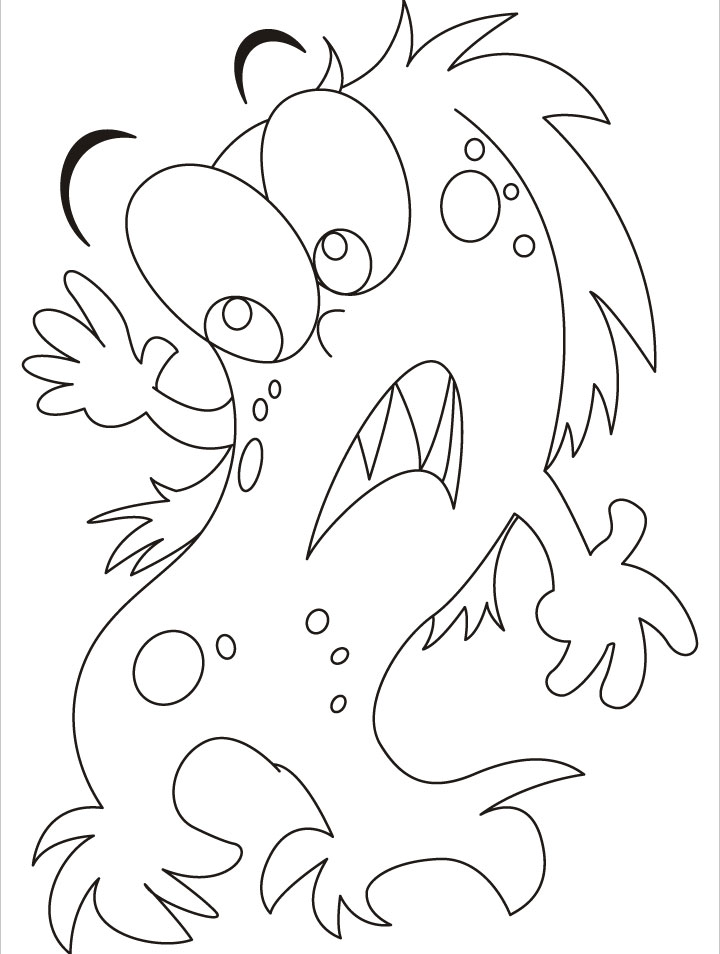Coloring pages of ghosts