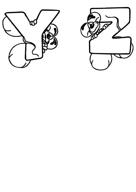 Mouse Alphabet G H I J K L Coloring Pages