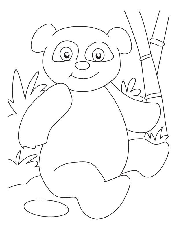 Sophisticated panda coloring pages Download Free Sophisticated