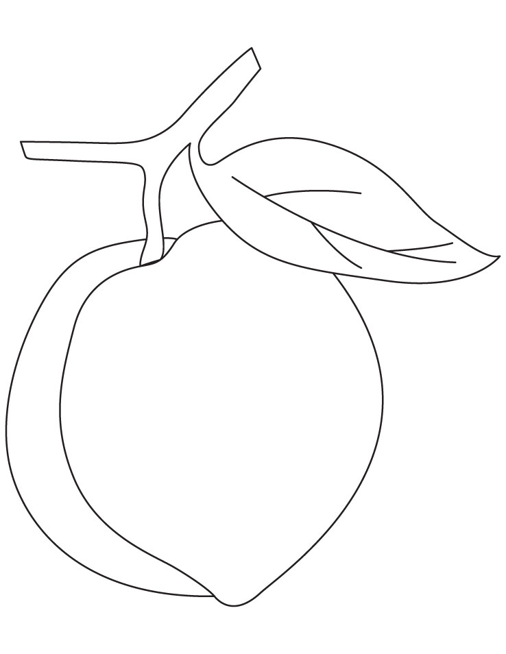 peach printable coloring pages - photo#20