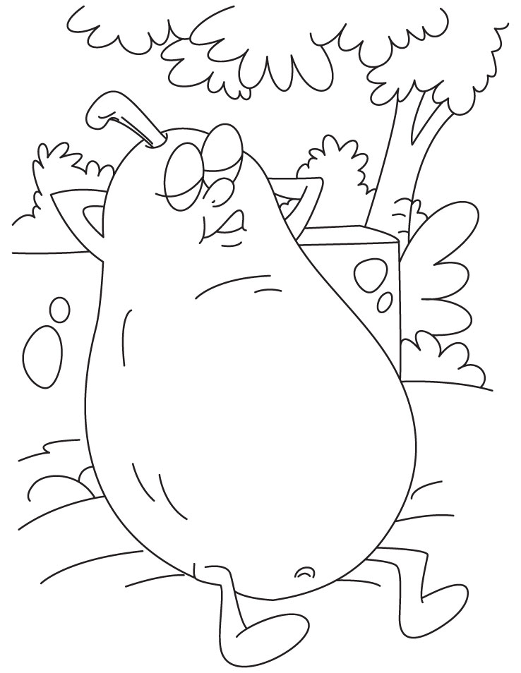 resting coloring pages - photo#26